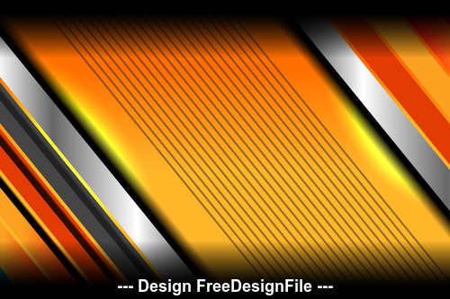 Template orange background vector