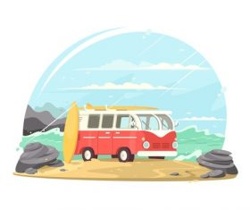Travel Conceptual Illustrations vector