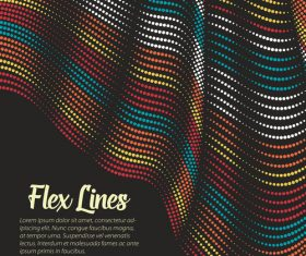 flex lines backgrounds vector 03