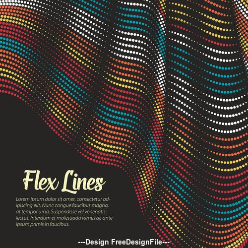 flex lines backgrounds vector 03
