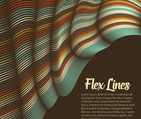 flex lines backgrounds vector 05