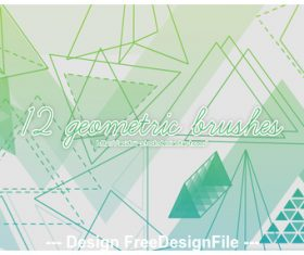 12 Kind Geometric PS Brushes