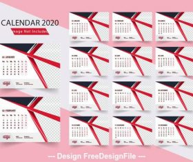 Calendar vector - for free download
