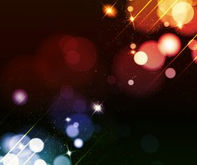 Abstract backgrounds bright decorative vector