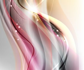 Abstract color bright light background vector