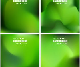 Abstract green blur background vector