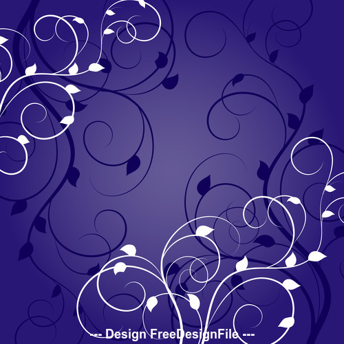 Blue background with white background vector