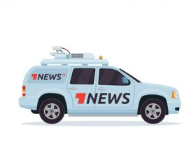 Broadcasting vehicle vector