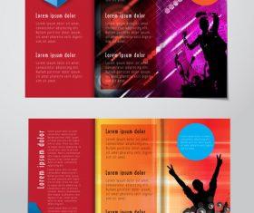 Brochure layout banner vector