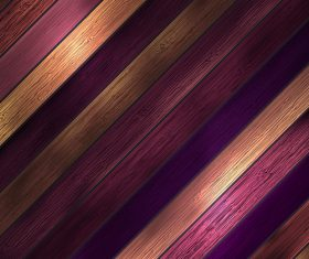 Brown and purple wooden boards design backgrounds vector