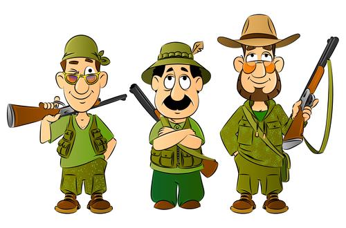 Cartoon funny character illustration vector