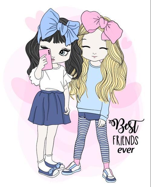 Sister cartoon