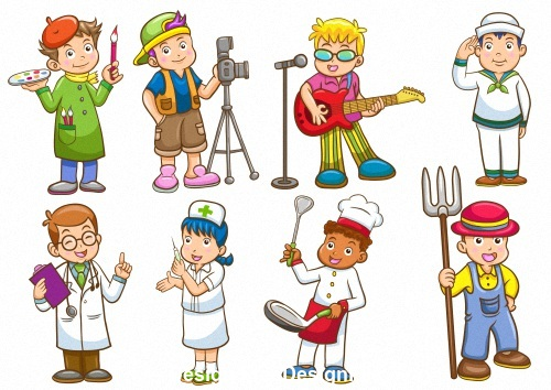 Childrens dream cartoon vector
