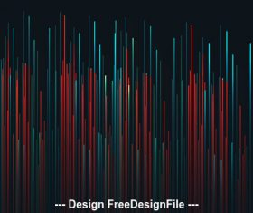 Colored lines background vector