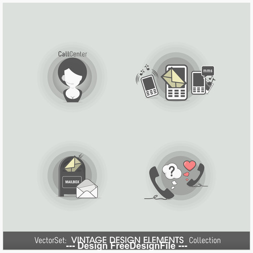Communication labels vector