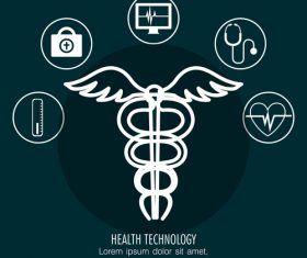 Concept healthcare and medical vector