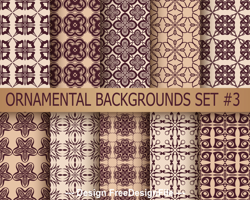 Counter change patterns seamless background vector
