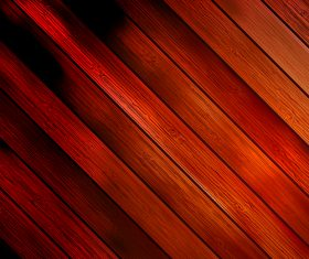 Dark red wooden boards design backgrounds vector