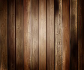 Dark wooden boards design backgrounds vector