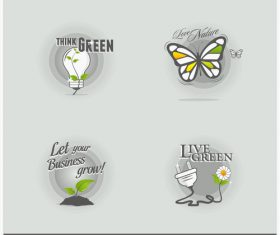 Design elements labels vector