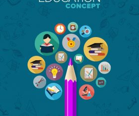 Education conceot vector