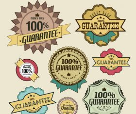Exclusive vintage high quality label vector