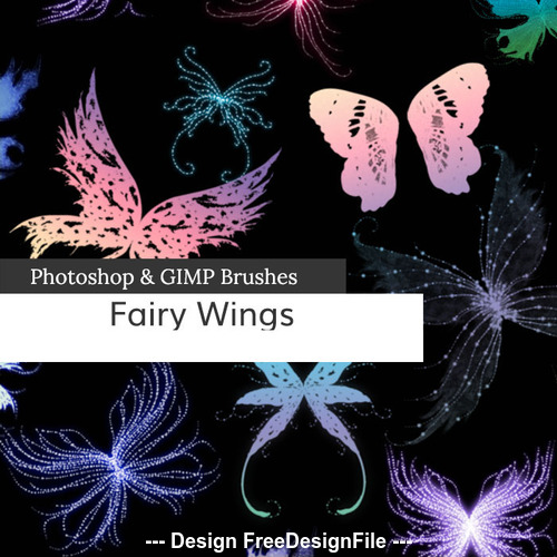 Fairy Wings PS Brushes