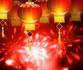 Festive china new year vector