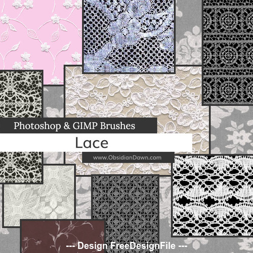Lace HD PS Brushes