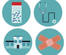Medical knowledge leaflet vector
