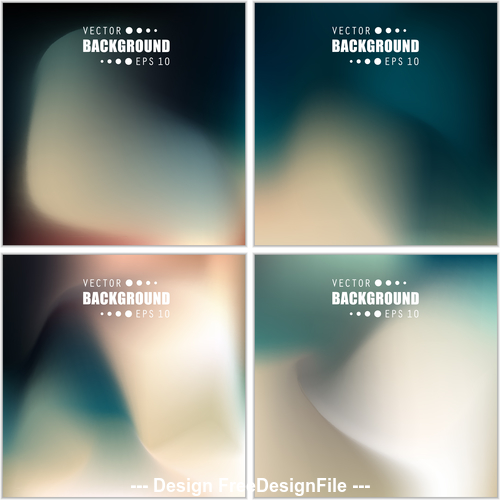 Multicolored blurred Abstract background vector