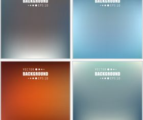 Multicolored blurred abstract background vector 03