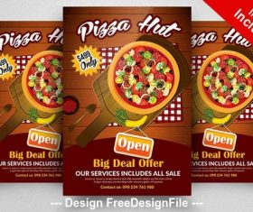 Pizza Hut PSD Flyer Templates