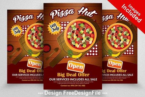 Pizza Hut PSD Flyer Templates
