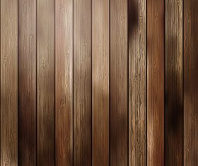 Primary colours wooden boards design backgrounds vector
