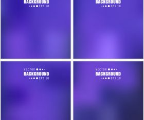Purple gradient multicolored blurred abstract background vector