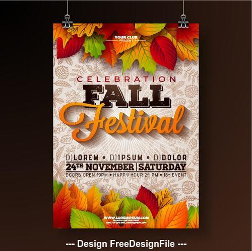 Season sale decorative pattern vector