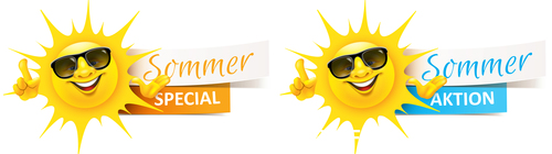 Summer special sale tag vector