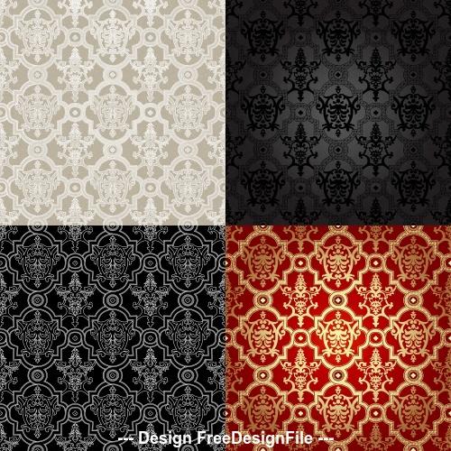 Textured pattern background vector