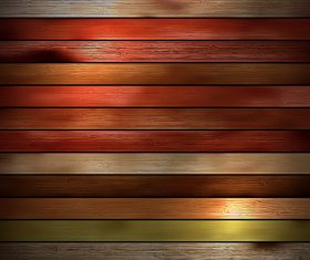 Tricolor wooden boards design backgrounds vector