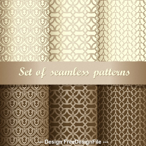 Two tone wallpaper pattern vector