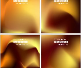 Yellow gradient abstract background vector