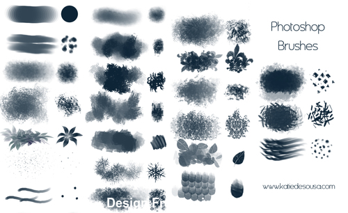 23 Kind creative photoshop brushes
