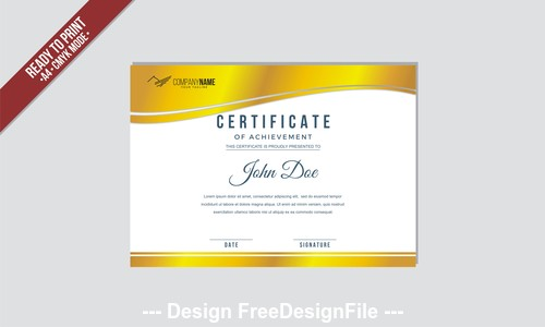 A4 mode Phnom Penh certificate vector