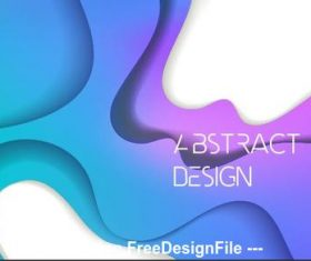 Abstract colorful geometric background pattern vector