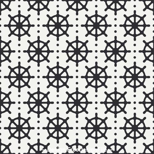 Abstract nautical seamless vector
