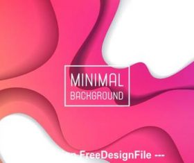Abstract red and pink background pattern vector