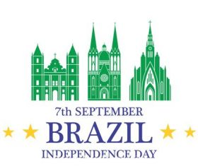 Brazil Independence day vector