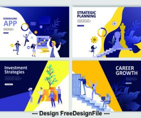 Career growth vector