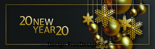 Christmas 2020 Background Christmas 2020 decorative background vector free download